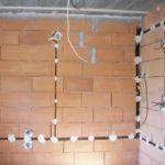 Монтаж электропроводки в частном доме